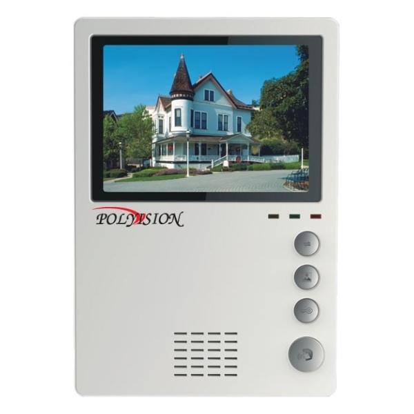 Видеодомофон цветной миниатюрный Polyvision PVD-4S v.5.1 (PVD-405C)