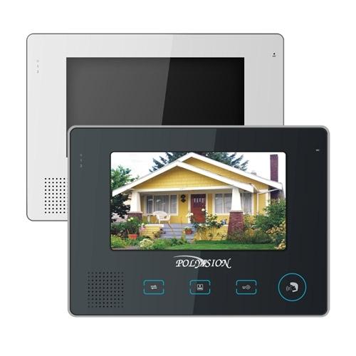 Цветной видеодомофон с сенсорными кнопками Polyvision PVD-705C