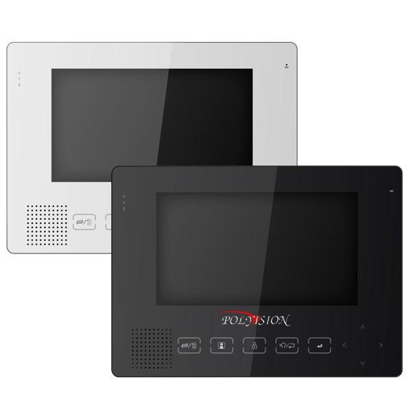 Цветной видеодомофон со встроенной памятью Polyvision PVD-705СM32GB