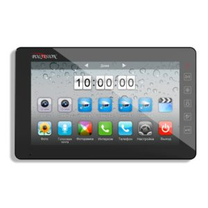Многофункциональный сенсорный 10-дюймовый монитор видеодомофона PVD-10L v.7.1 (PVD-A10H2)