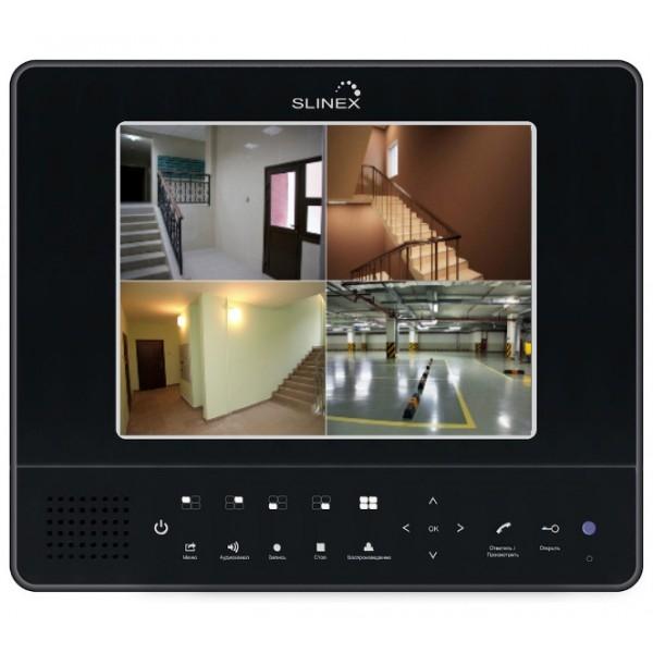 Цветной видеодомофон + видеорегистратор Slinex GL-08N