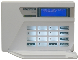 SLK-200 Клавиатура с графическим ЖКИ
