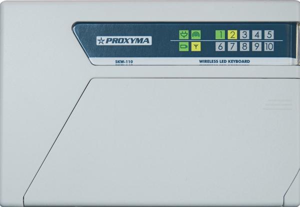 SKW-110 Светодиодная, беспроводная клавиатура