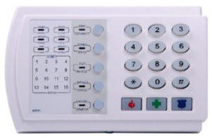 """Охранно-пожарный прибор с клавиатурой """"КОНТАКТ GSM-9"""""""