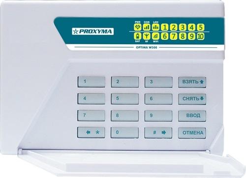 W-500L Optima Объектовый прибор в корпусе клавиатуры