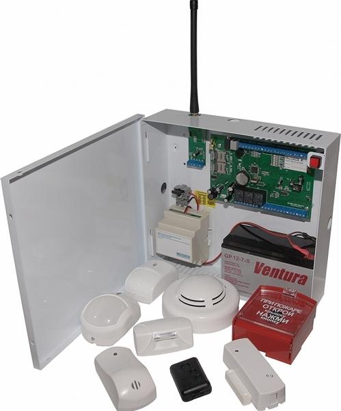 Приёмно-контрольный прибор PROXYMA S632-2GSM-B/BK